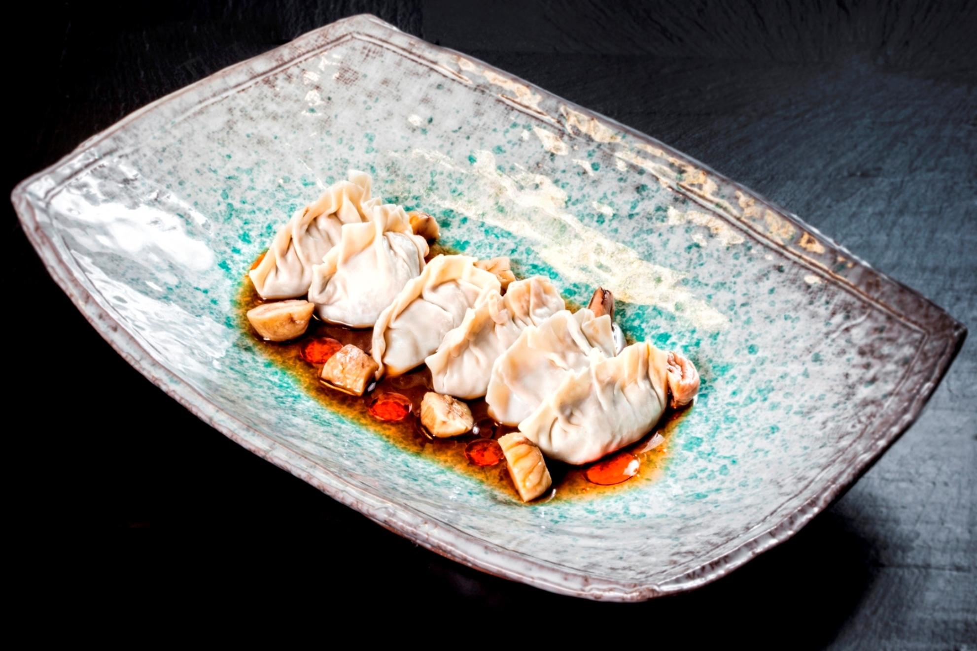 Gyozas de jabalí 99 sushi bar