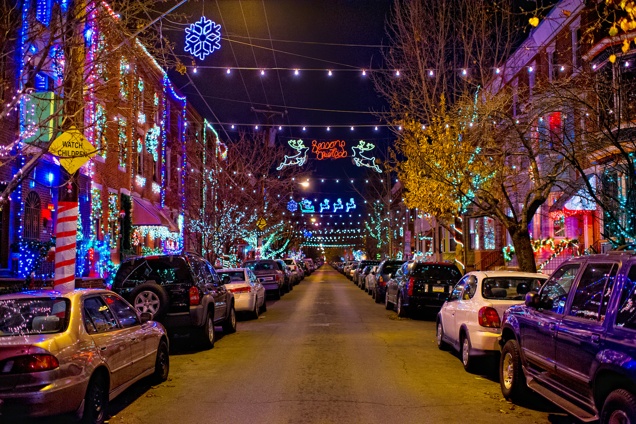 Where to see Christmas lights in Philadelphia