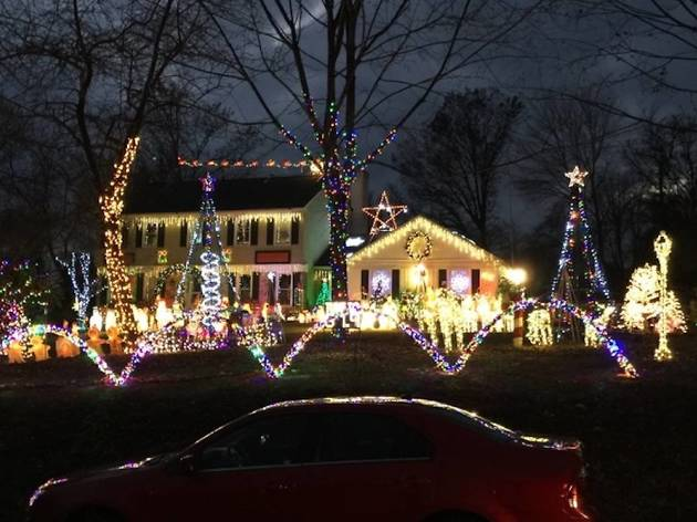 Christmas Vacation House Lights.West Chester Griswolds Things To Do In Philadelphia