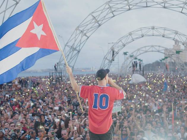 Diplo, Walshy Fre y Jillionaire, Give me Future: Major lazer in Cuba, Los Cabos Film Festival