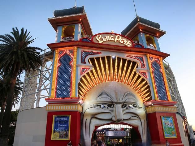 Luna Park at Around St Kilda