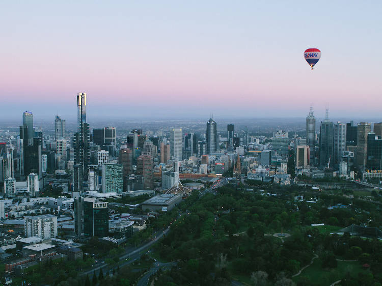 The best ways to see Melbourne from above