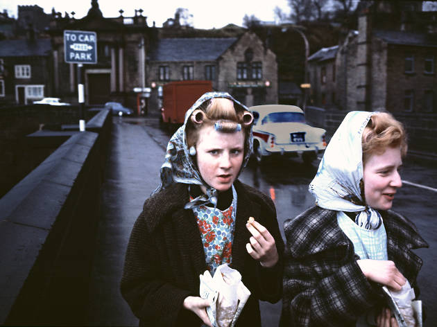 Curlers and Chips, Yorkshire, 1965, Sunday Times Magazine © John Bulmer