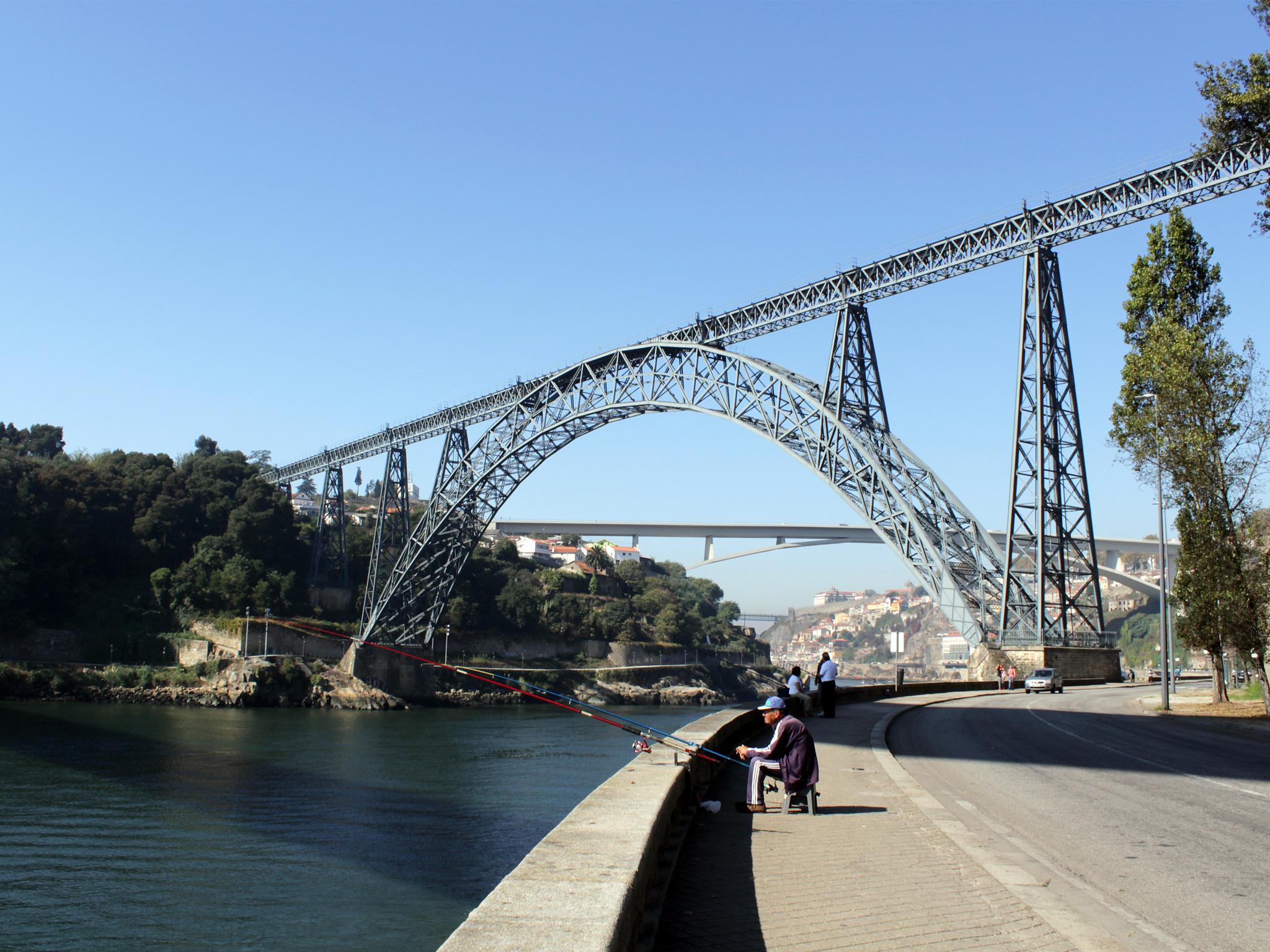 Conheça três das seis pontes que atravessam o Douro