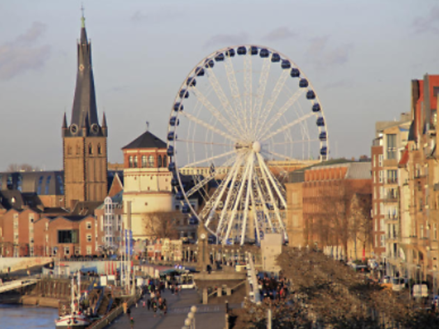 Private Düsseldorf highlights tour