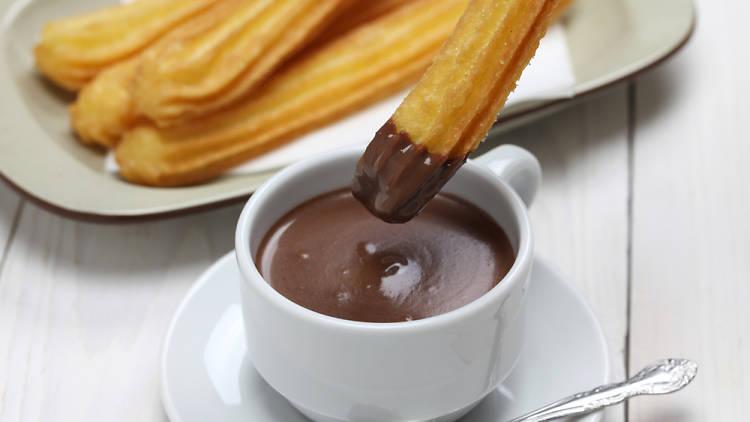 Chocolate churros