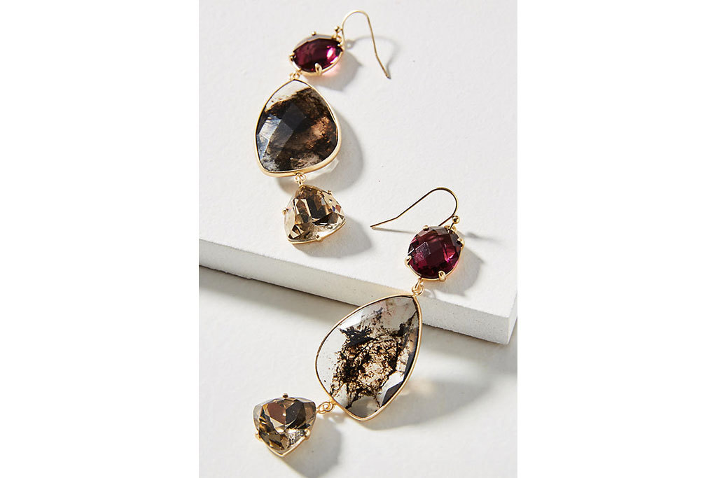 Anthropologie Triumverate earrings