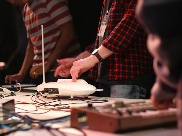Electronic music workshop