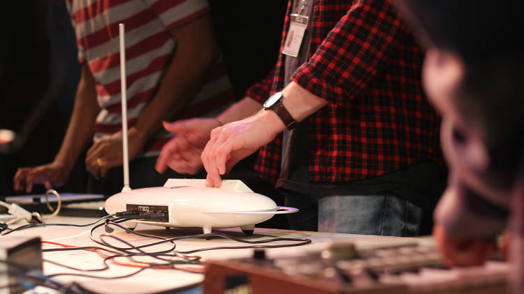 Electronic music workshop