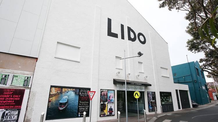 Outside at Lido Cinemas
