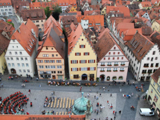 Guided Rothenburg day trip
