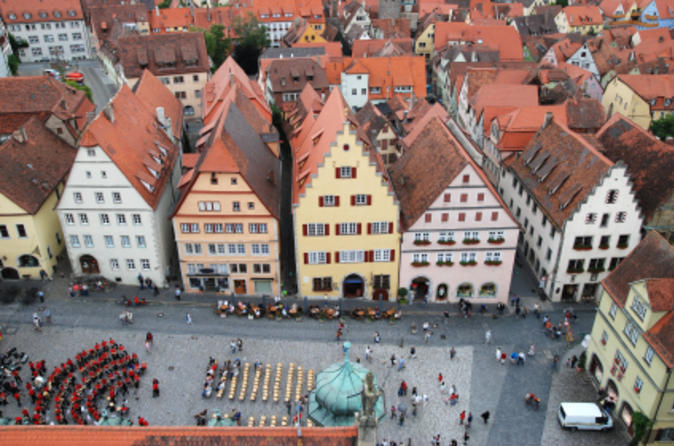 Frankfurt tours- Guided Rothenburg day trip