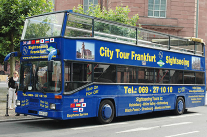 Frankfurt tours- Frankfurt city hop-on hop-off tour
