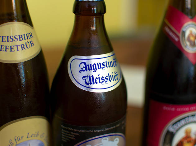 Bavarian beer and food evening tour