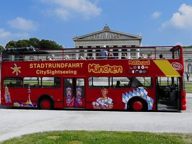 Panoramic hop-on hop-off city tour