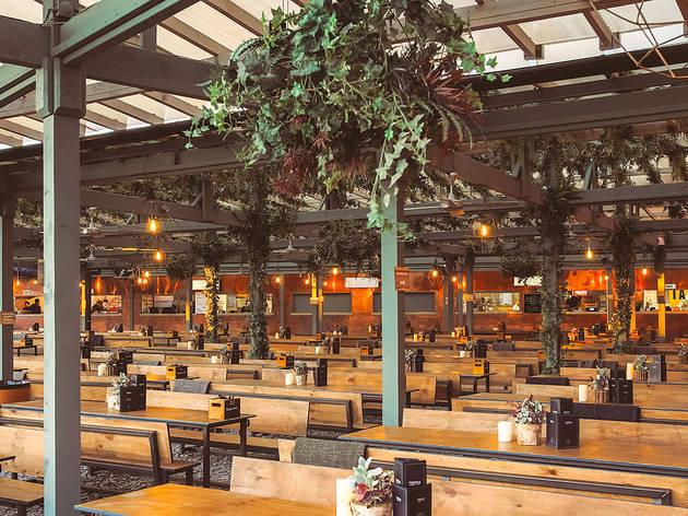 Pergola Paddington Central Restaurants In Paddington London