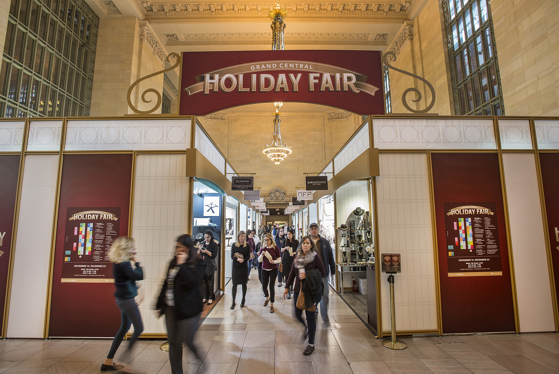A spectacular holiday market opens at Grand Central Terminal next week