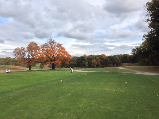 Shoot 18 holes minutes from downtown: William J. Devine Golf Course at Franklin Park