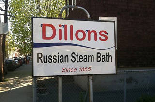 Dillon's Russian Steam Bath