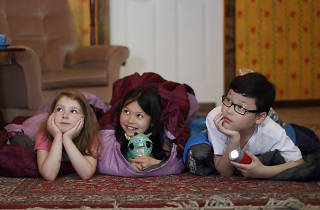Family Sleepover: A Grand Night In