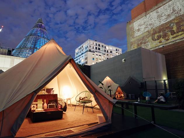 Tents at St Jerome's : The Hotel