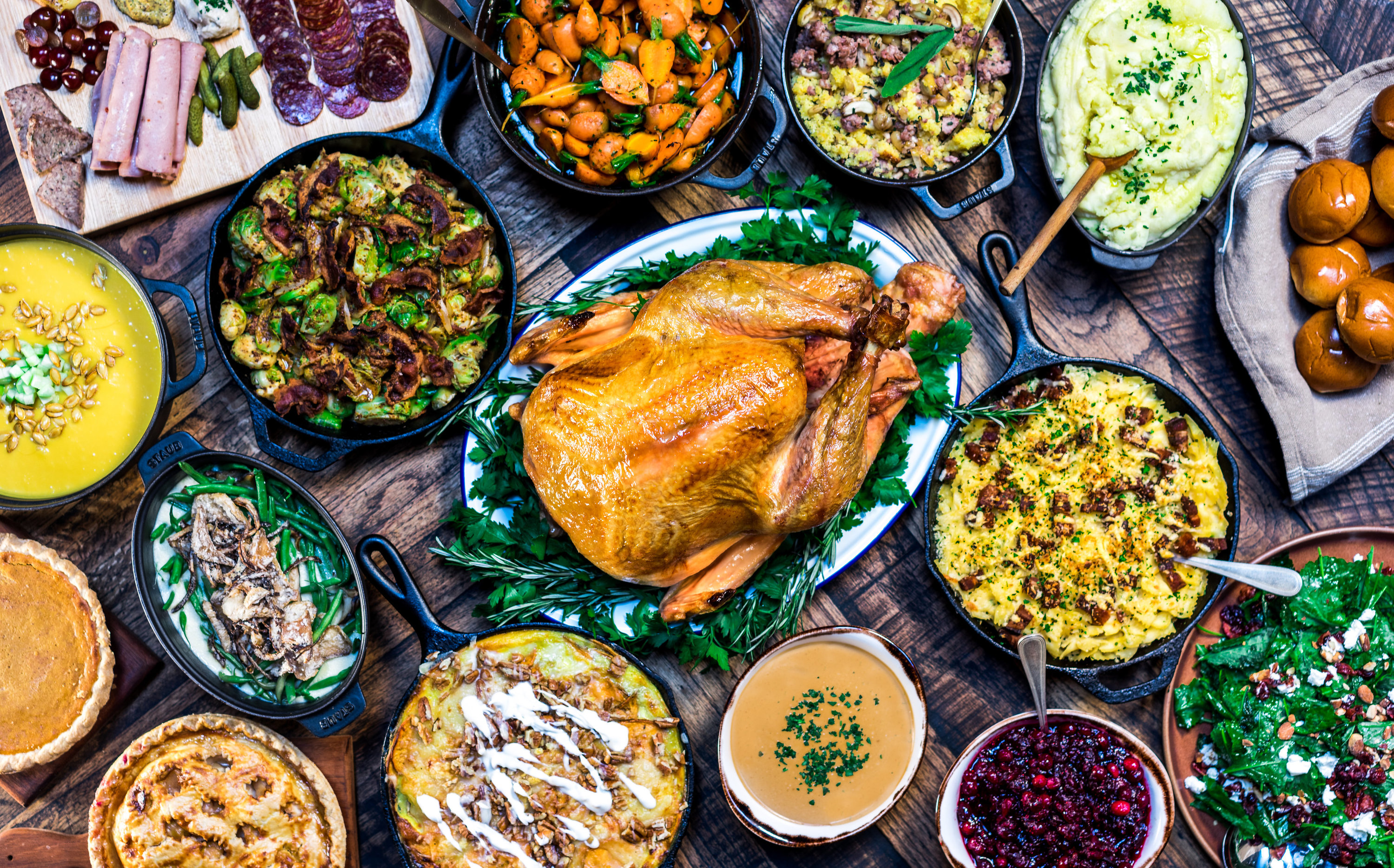 Where to find Thanksgiving dinner to-go