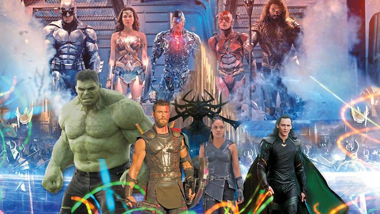 Thor vs. La liga de la justicia
