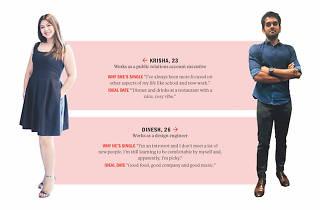 Find me a date Dinesh and Krisha