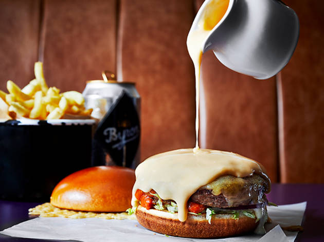 Byron just launched 'the UK's cheesiest burger'