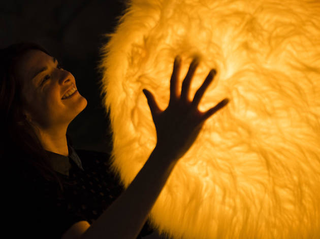 You can hug giant fluffy balls in Paddington right now