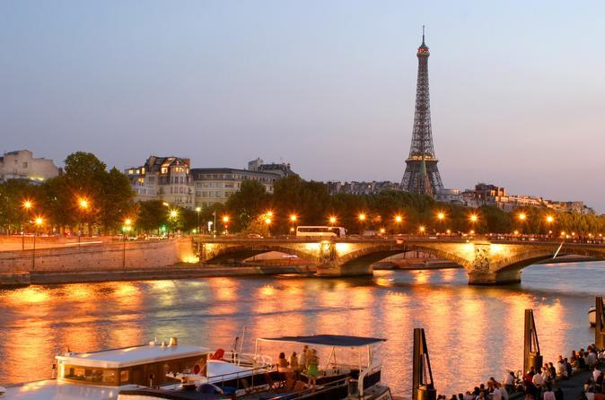 Dinner cruises- Eiffel Tower dinner and Seine river cruise