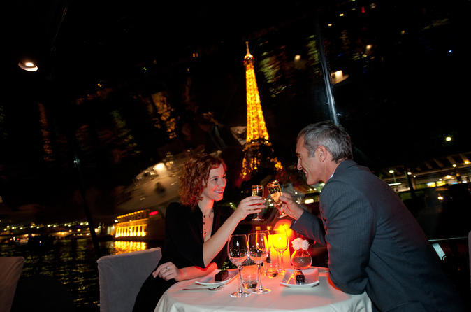 Dinner cruises- Bateaux Parisiens dinner on the Seine