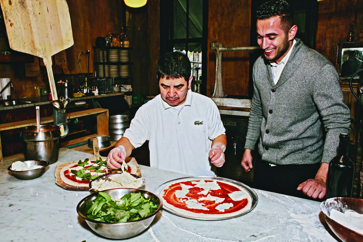 We talked to one of NYC's best pizza chefs and his die-hard regular about their bond