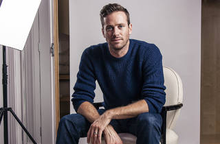 Portrait of Armie Hammer