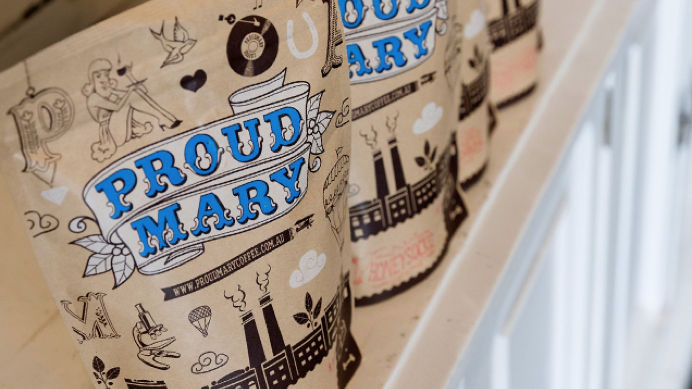 Proud Mary coffee at Aunty Peg's
