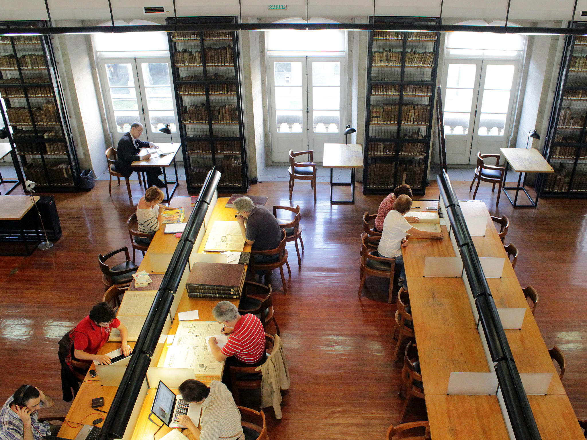 Leia na Biblioteca Pública Municipal do Porto
