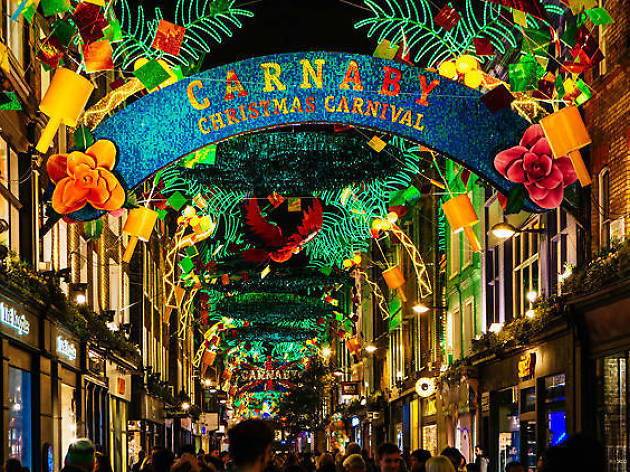 carnaby carnival christmas - London Christmas Decorations