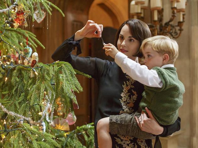 """Downton Abbey, presentó el capítulo """"Christmas Special"""""""
