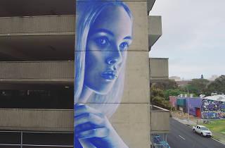 Claire Foxton mural for Wonderwalls