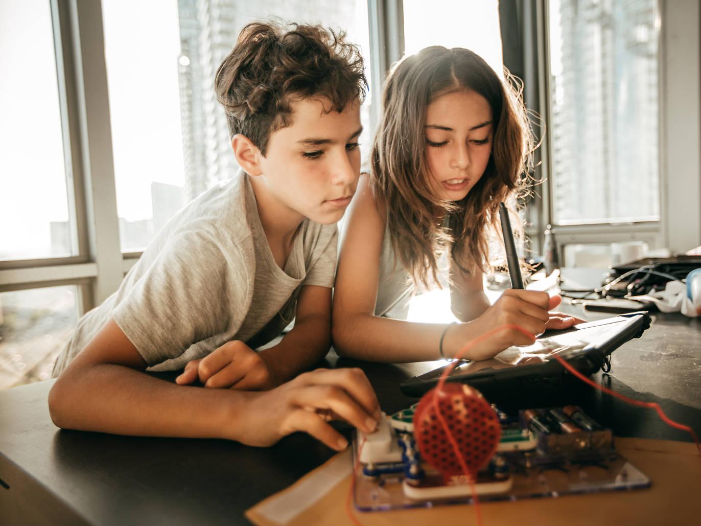 Kids, camp, engineering, workshop, STEM