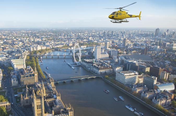 Helicopter rides and tours in London