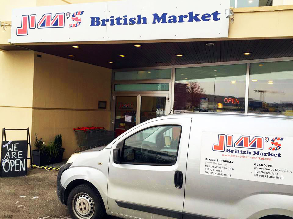 Jim's British Market