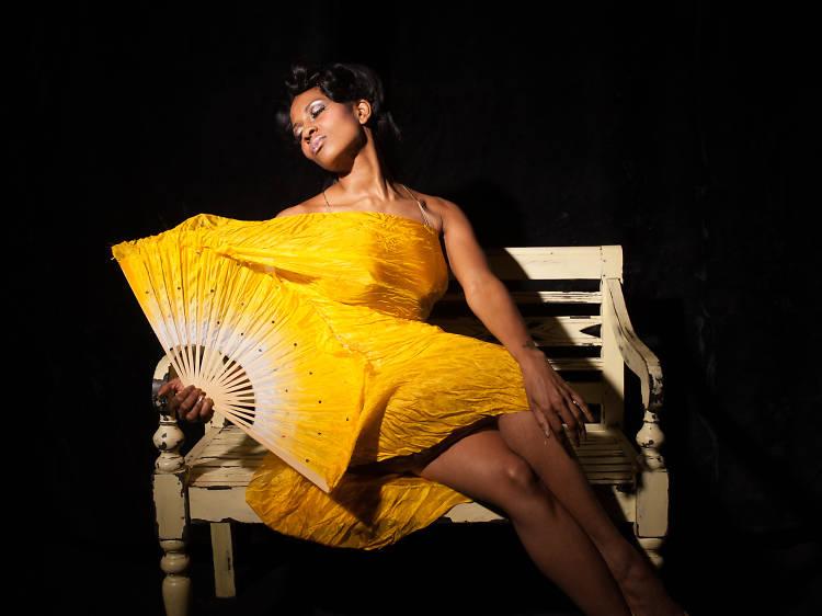 Golden Lady Burlesque