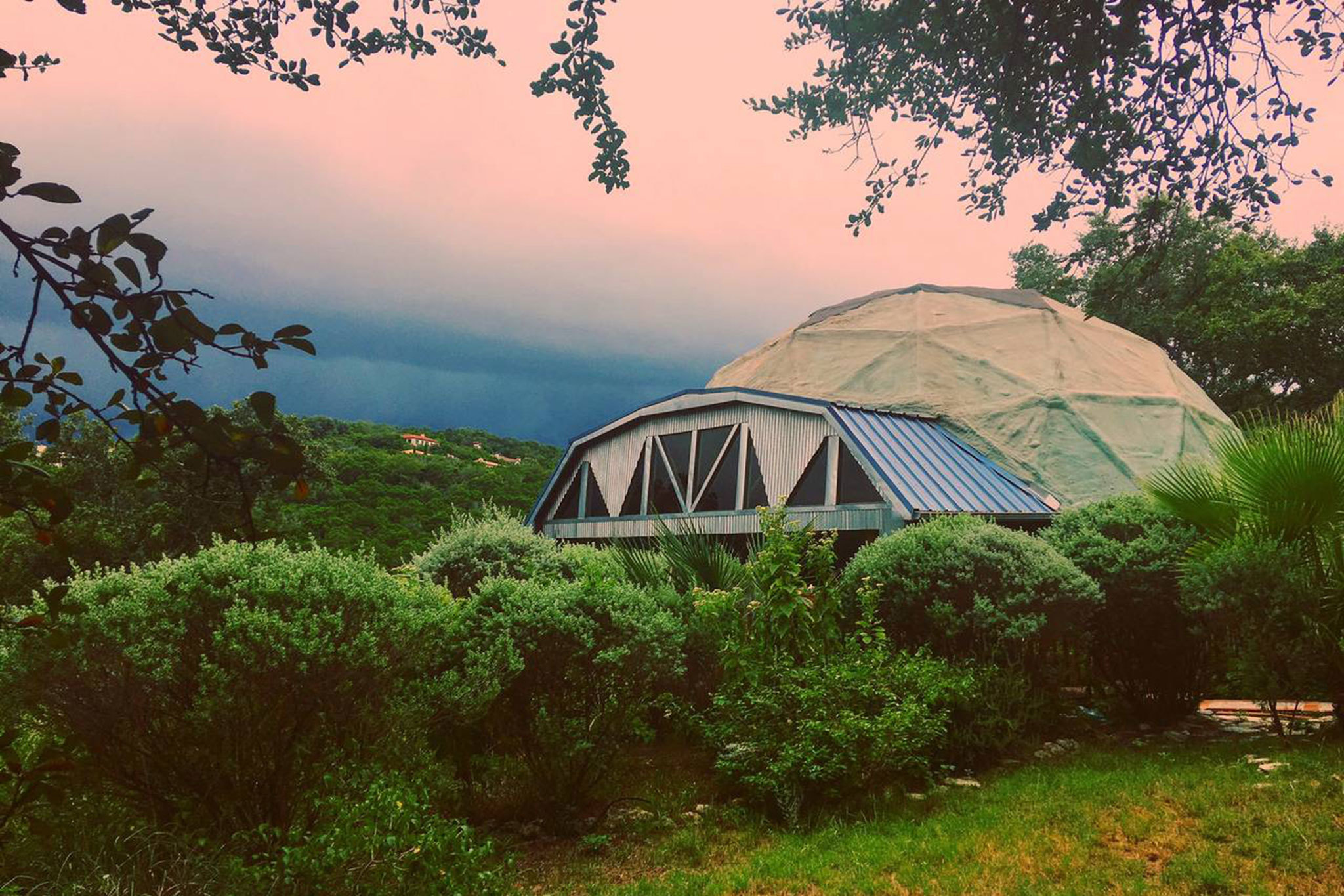 Airbnb geodesic dome