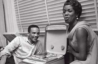 Quincy Jones y Sarah Vaughan