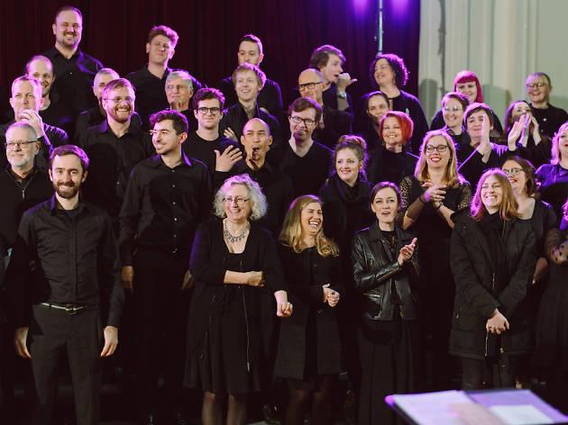 Community choir performance