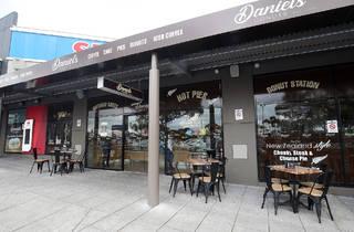 Exterior at Daniel's Donuts
