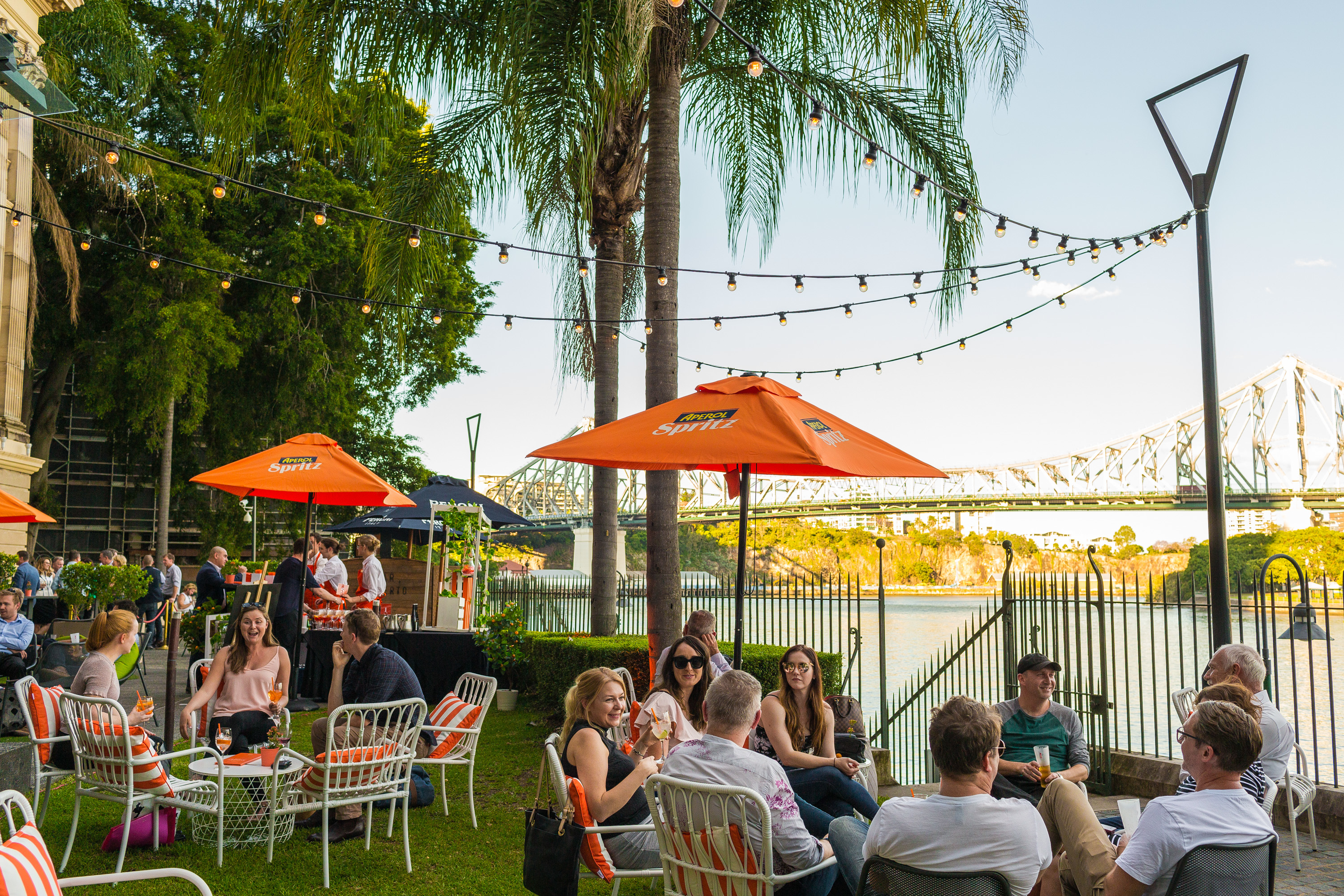 Sunny spots for alfresco dining in Brisbane