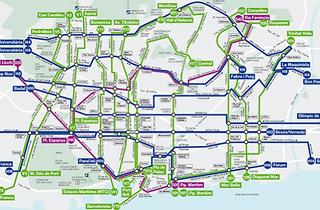 Barcelona estrena quatre línies d'autobús i el nou plànol queda així!