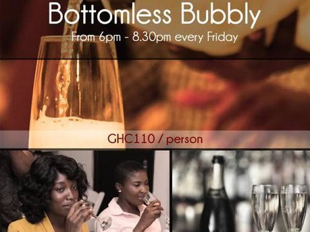 Bottomless Bubbly